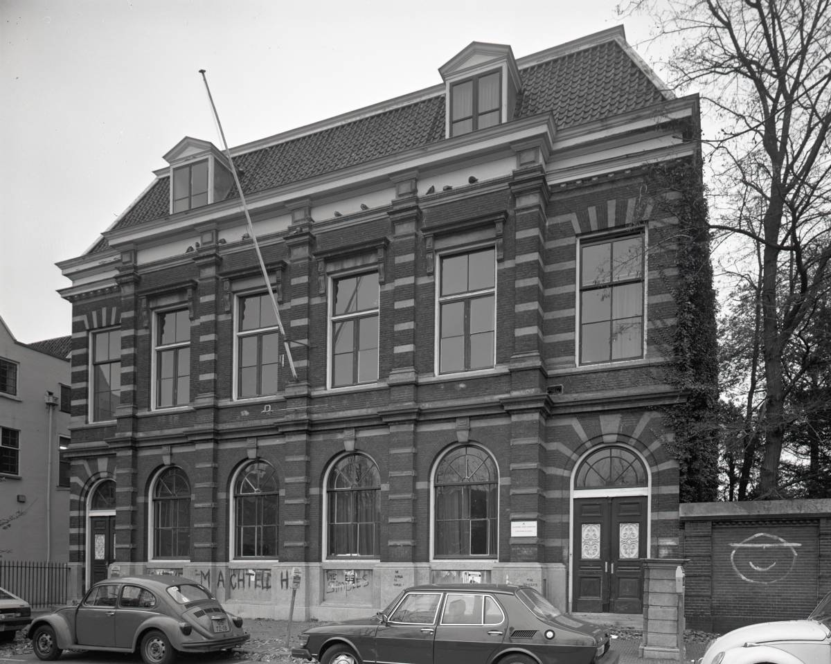 Janskerkhof 17 te Utrecht in november 1980